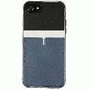 背面カードポケットケース @hand ハイフン ブラック iPhone 7 Plus