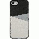 背面カードポケットケース @hand スラッシュ グレイ iPhone 7【6月上旬】
