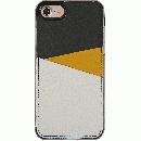 背面カードポケットケース @hand スラッシュ イエロー iPhone 7【6月上旬】