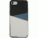 背面カードポケットケース @hand スラッシュ ネイビー iPhone 7【6月上旬】