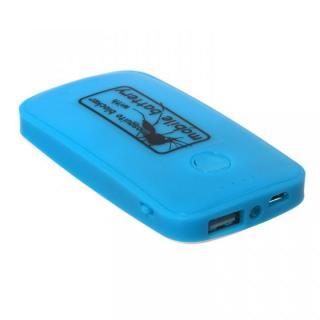 [3600mAh]蚊よけ付きモバイルバッテリー ブルー