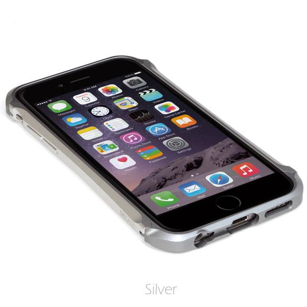 【iPhone6ケース】アルミニウムバンパー DECASE prossimo シルバー iPhone 6_0
