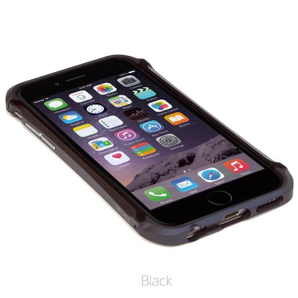アルミニウムバンパー DECASE prossimo ブラック iPhone 6