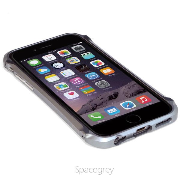 iPhone6 ケース アルミニウムバンパー DECASE prossimo グレイ iPhone 6_0