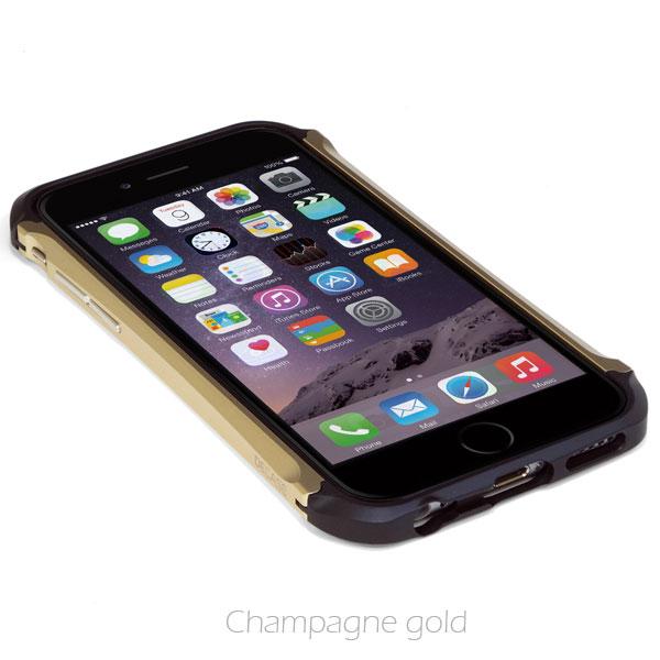 iPhone6 ケース アルミニウムバンパー DECASE prossimo ゴールド iPhone 6_0