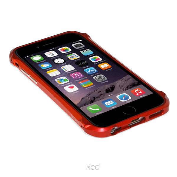【iPhone6ケース】アルミニウムバンパー DECASE prossimo レッド iPhone 6_0
