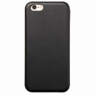 iPhone6s/6 ケース クリスタルアーマー 手帳型クラムシェルケース マット ブラック iPhone 6s/6