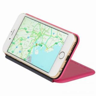【iPhone6ケース】クリスタルアーマー 手帳型クラムシェルケース マット ピンク iPhone 6_3