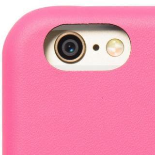 【iPhone6ケース】クリスタルアーマー 手帳型クラムシェルケース マット ピンク iPhone 6_6