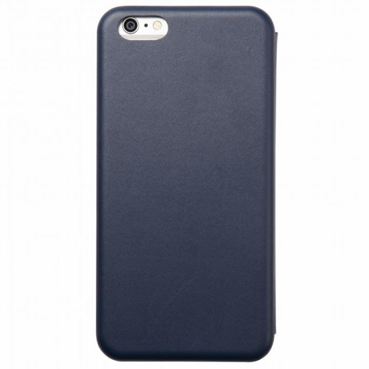 iPhone6s Plus/6 Plus ケース クリスタルアーマー 手帳型クラムシェルケース マット ネイビー iPhone 6s Plus/6 Plus_0