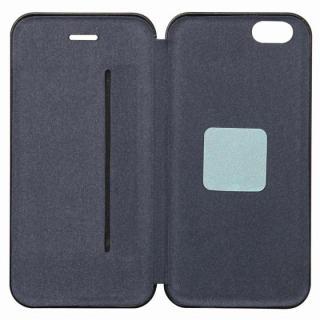 【iPhone6ケース】クリスタルアーマー 手帳型クラムシェルケース ザラ シルバー iPhone 6_5