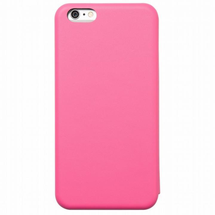iPhone6s Plus/6 Plus ケース クリスタルアーマー 手帳型クラムシェルケース マット ピンク iPhone 6s Plus/6 Plus_0