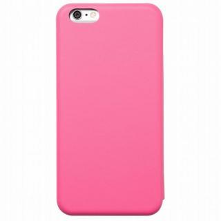 クリスタルアーマー 手帳型クラムシェルケース マット ピンク iPhone 6s Plus/6 Plus