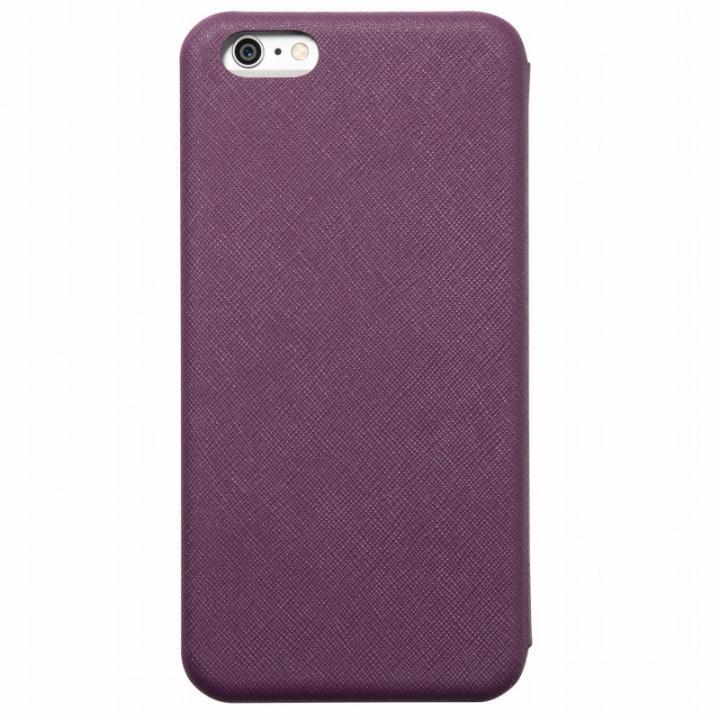 iPhone6s Plus/6 Plus ケース クリスタルアーマー 手帳型クラムシェルケース ザラ パープル iPhone 6s Plus/6 Plus_0