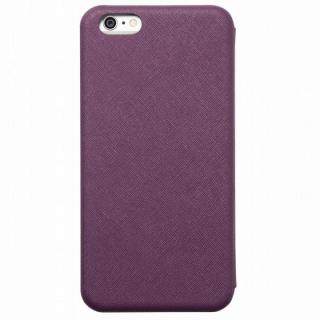 クリスタルアーマー 手帳型クラムシェルケース ザラ パープル iPhone 6s Plus/6 Plus