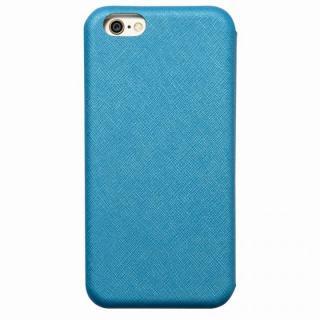 クリスタルアーマー 手帳型クラムシェルケース ザラ ブルー iPhone 6s Plus/6 Plus
