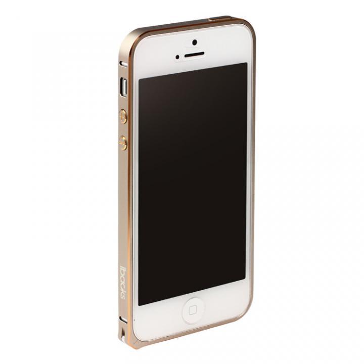 iPhone SE/5s/5 ケース 6g軽量アルミバンパー Essence Bumper ゴールド iPhone SE/5s/5バンパー_0