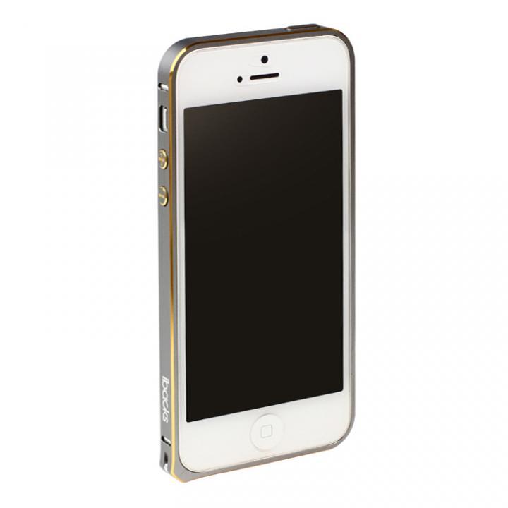 iPhone SE/5s/5 ケース 6g軽量アルミバンパー Essence Bumper スペースグレイ iPhone SE/5s/5バンパー_0