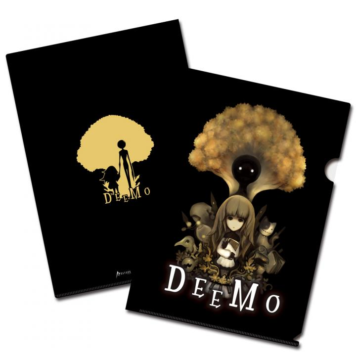 DEEMO A4クリアファイル A(ブラック)_0