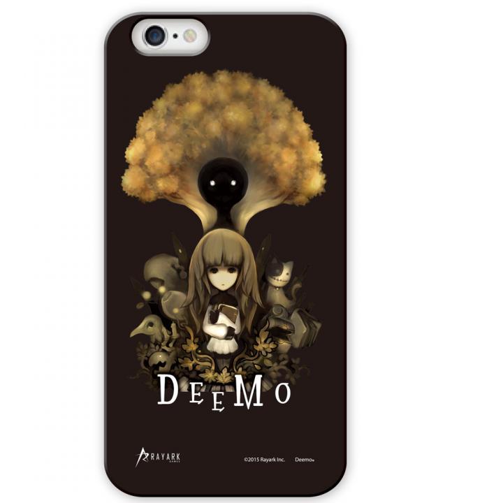 [4周年特価]DEEMO デザインケース ブラック iPhone 6