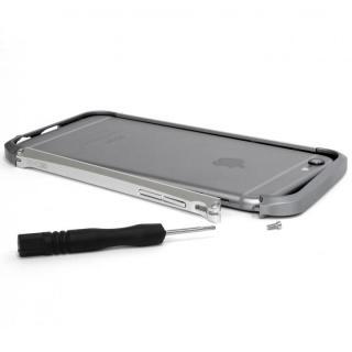 【iPhone6ケース】アルミニウムバンパー DECASE prossimo シルバー iPhone 6_3