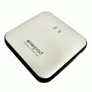 [12000mAh]リンクス ACコンセント付きモバイルバッテリー enerpad シルバー【11月上旬】