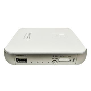 [12000mAh]リンクス ACコンセント付きモバイルバッテリー enerpad ホワイト_1