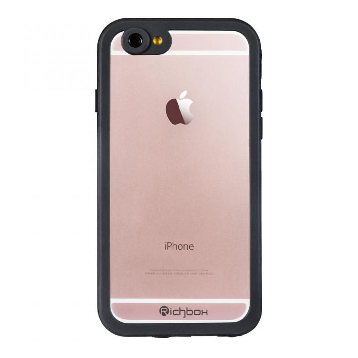 【iPhone6s/6ケース】超薄型 軽量防水ケース IP68 ブラック iPhone 6s/6_0