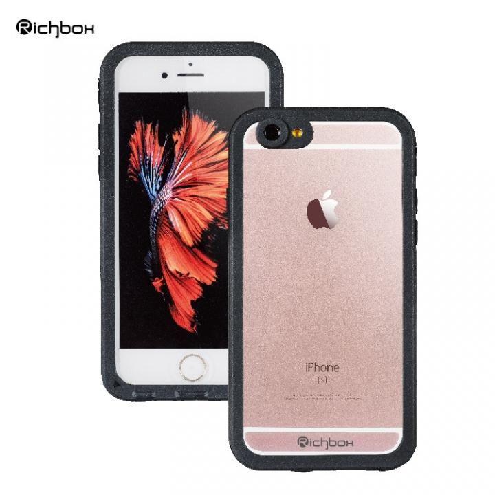 【iPhone6s Plus/6 Plusケース】超薄型 軽量防水ケース IP68 ブラック iPhone 6s Plus/6 Plus_0