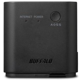 旅行先のホテルでも高速Wi-Fi QRsetup エアステーション 無線LAN親機 ブラック_6