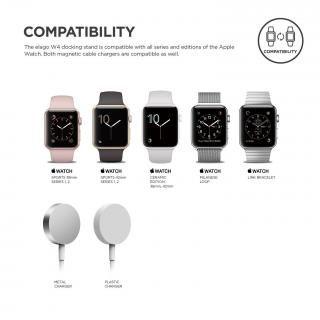 elago Apple Watch 充電スタンド W4 STAND アクアピンク_8