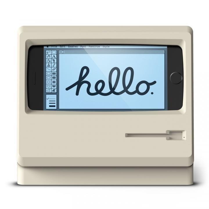 elago iPhone 7/6s/6用充電スタンド M4 STAND クラシックホワイト