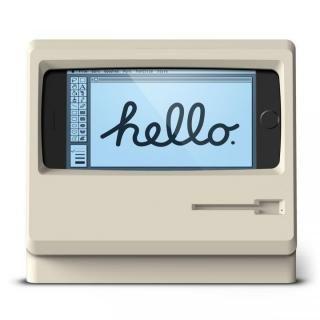 elago iPhone 8/7/6s/6用充電スタンド M4 STAND クラシックホワイト