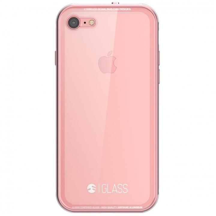 iPhone7 ケース SwitchEasy ガラスケース ローズゴールド iPhone7_0