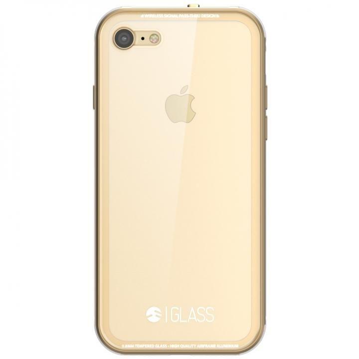 【iPhone7ケース】SwitchEasy ガラスケース ゴールド iPhone7_0