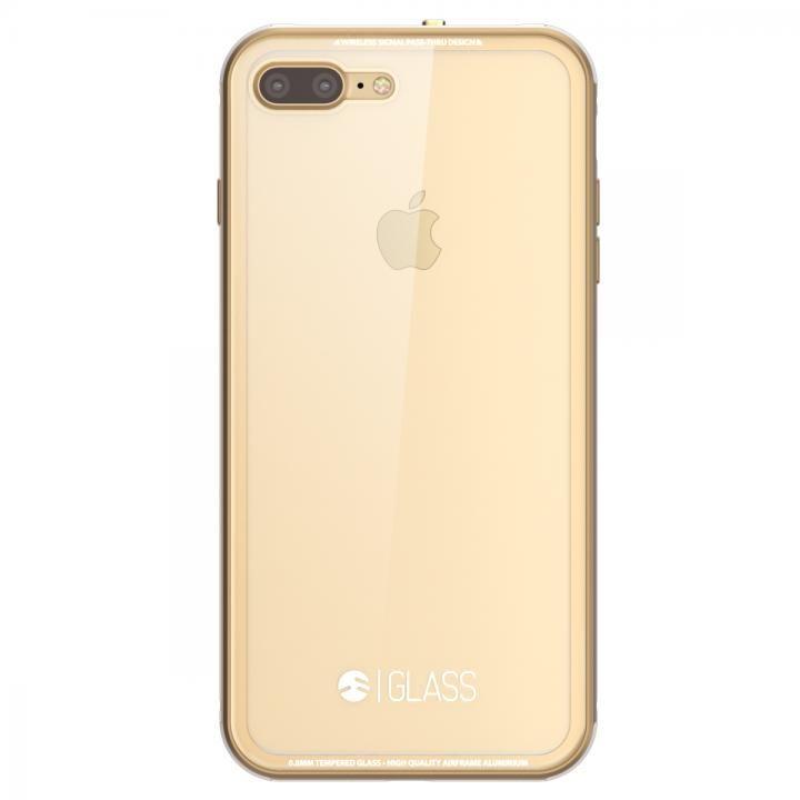 SwitchEasy ガラスケース ゴールド iPhone7 Plus