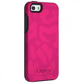 耐衝撃 OtterBox Symmetry チーターピンク/スレートグレー iPhone SE/5s/5ケース