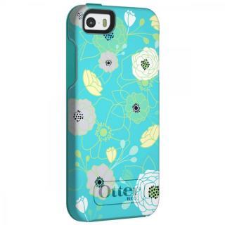 耐衝撃 OtterBox Symmetry エデン/アクアブルー iPhone SE/5s/5ケース