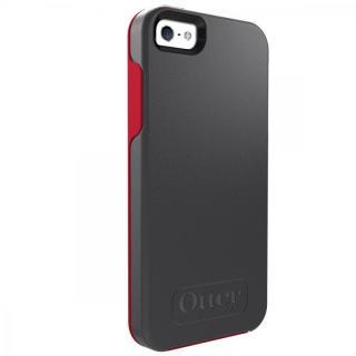耐衝撃 OtterBox Symmetry スレートグレー/スカーレット・レッド iPhone SE/5s/5ケース