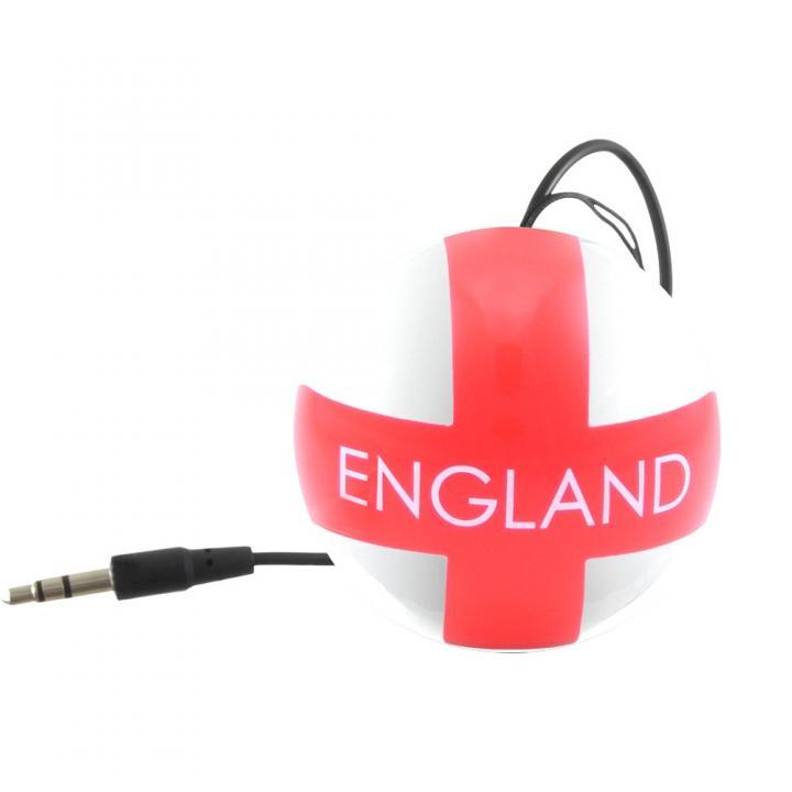 国旗デザインポータブルスピーカー Kitsound Mini Buddy イングランド_0