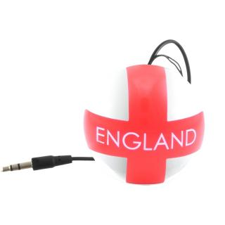 国旗デザインポータブルスピーカー Kitsound Mini Buddy イングランド