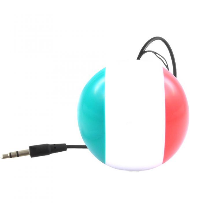 国旗デザインポータブルスピーカー Kitsound Mini Buddy イタリア_0