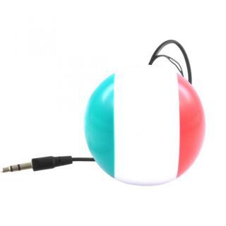 国旗デザインポータブルスピーカー Kitsound Mini Buddy イタリア