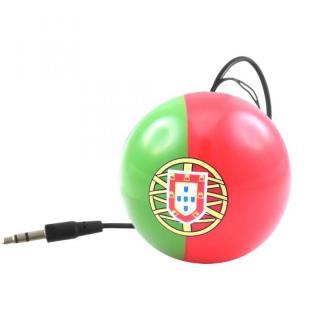 国旗デザインポータブルスピーカー Kitsound Mini Buddy ポルトガル