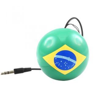 国旗デザインポータブルスピーカー ブラジル