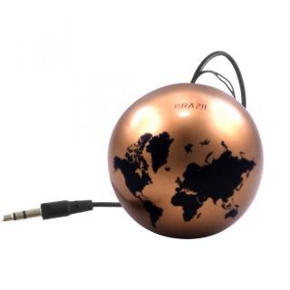 国旗デザインポータブルスピーカー Kitsound Mini Buddy ワールドマップ