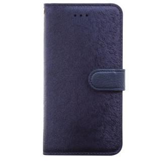 【6月上旬】イタリアンPUレザー手帳型ケース CALF Diary ネイビーブルー iPhone 6