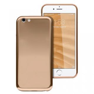 ICカードが入るケース JEMGUN Monolith ゴールド iPhone 6s/6