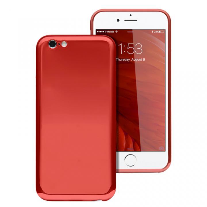 【iPhone6s/6ケース】ICカードが入るケース JEMGUN Monolith レッド iPhone 6s/6_0