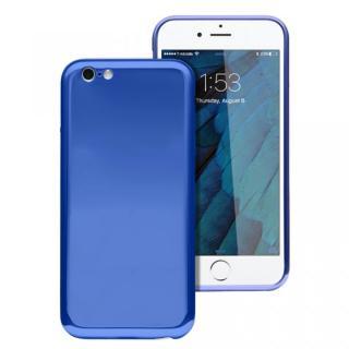 ICカードが入るケース JEMGUN Monolith ブルー iPhone 6s/6【6月上旬】